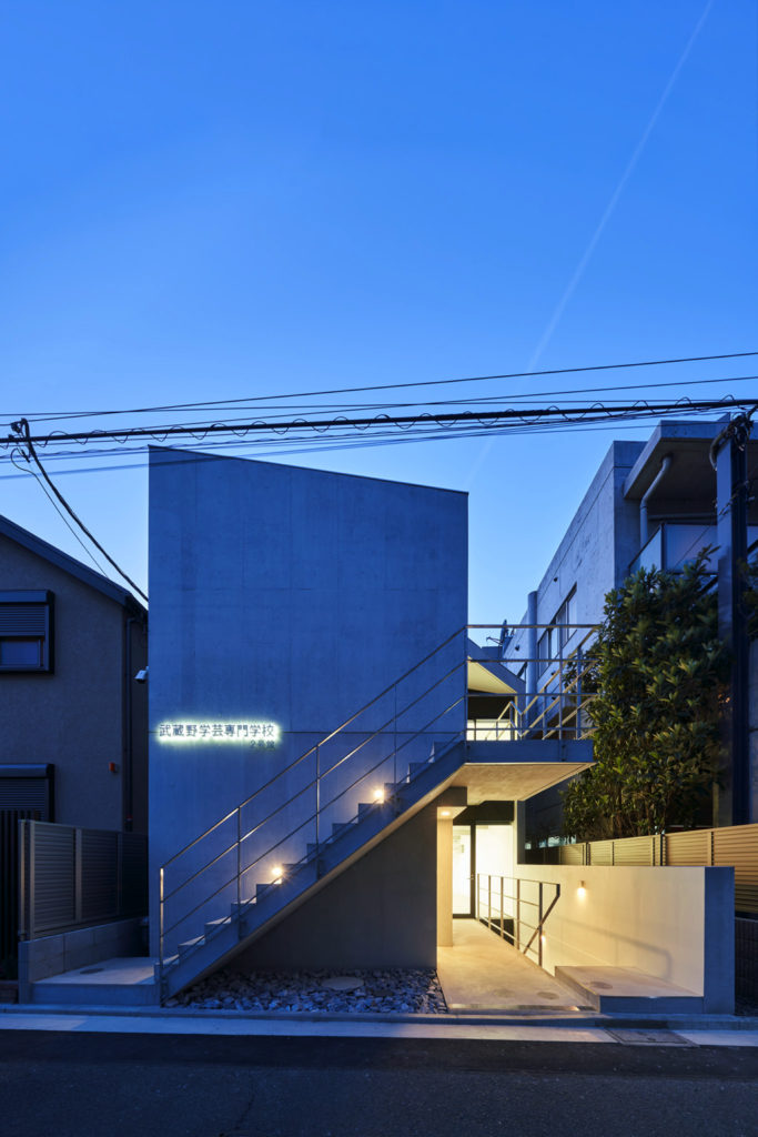 MUSASHINO GAKUGEI COLLEGE Building No.2 / Photo:Masaya Yoshimura
