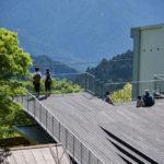 Mount Kongo Station Terrace/photo:Masaya Yoshimura